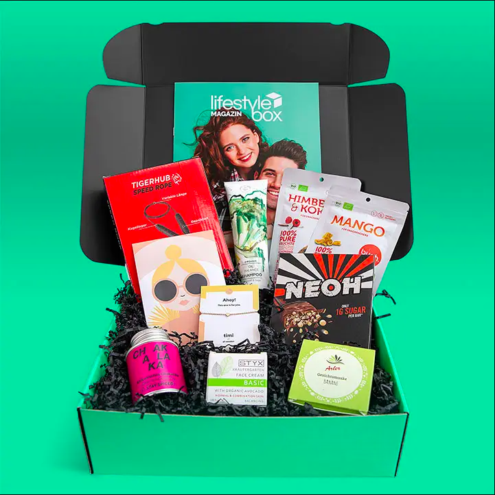 Lifestylebox by the start up freebiebox