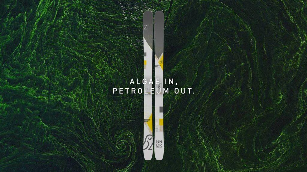 WNDR Apline Ski made from bioplastics